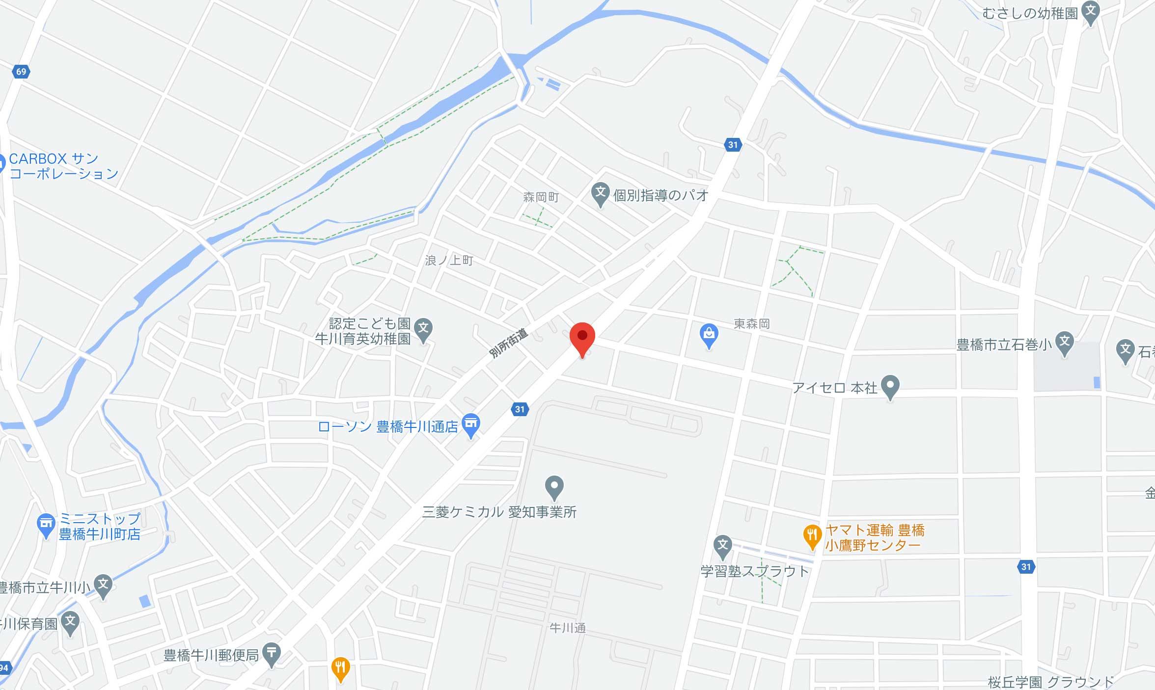 豊橋店地図